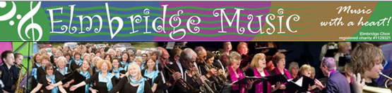 Elmbridge Music - Surrey Choirs, Big Band & Young Musicians